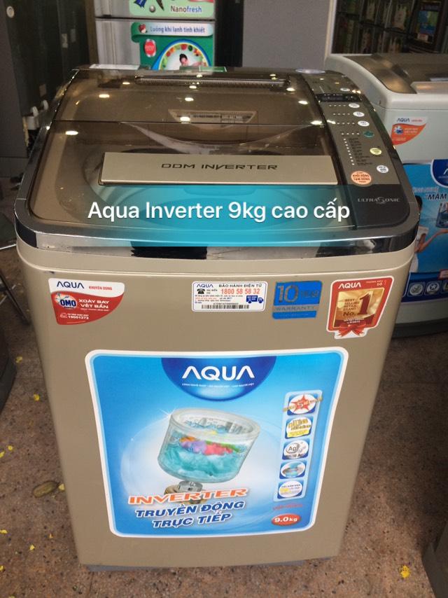 Máy Giặt Sanyo 9KG LỒNG NGHIÊNG CAO CẤP INVERTER