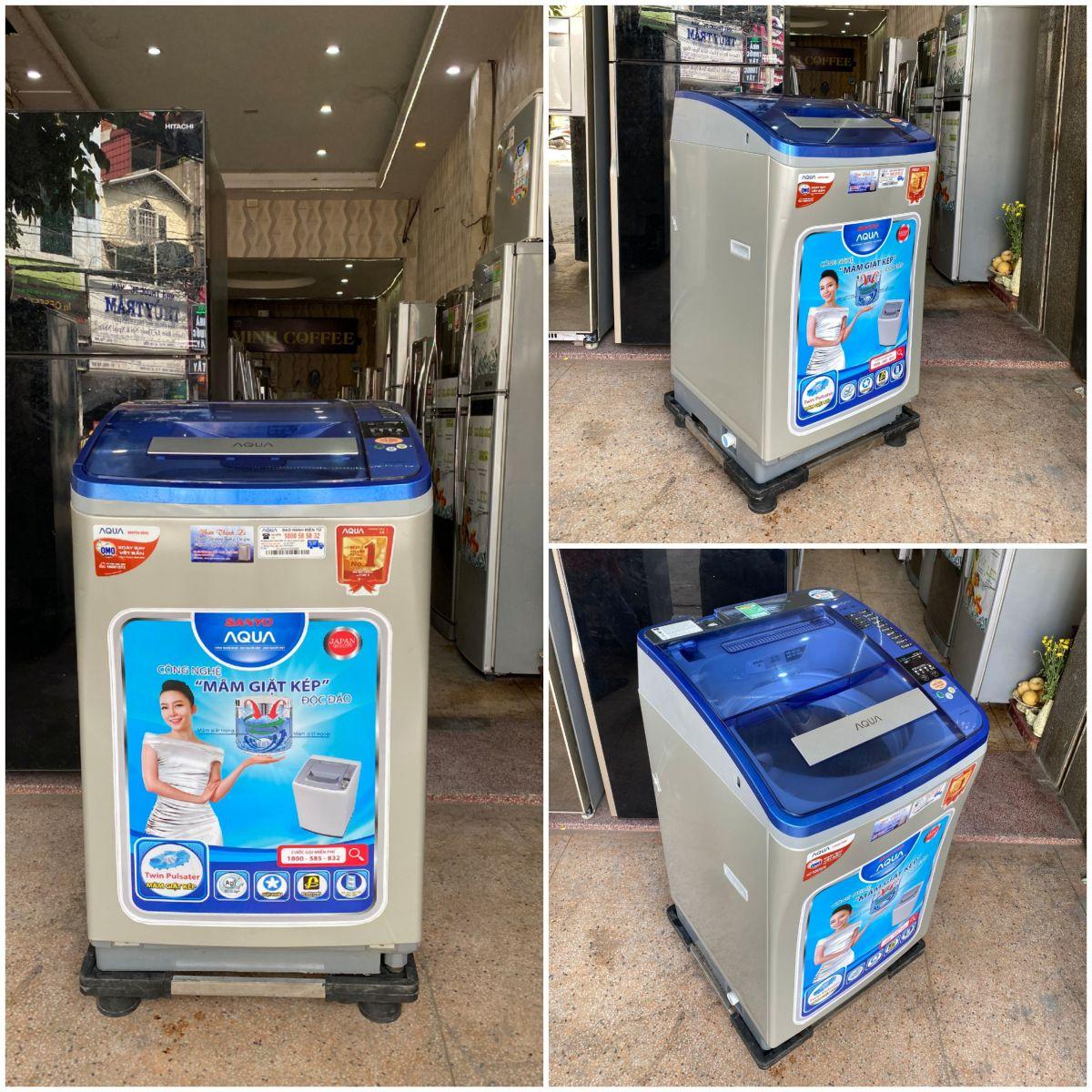 Máy Giặt Aqua lồng nghiêng 8kg cao cấp