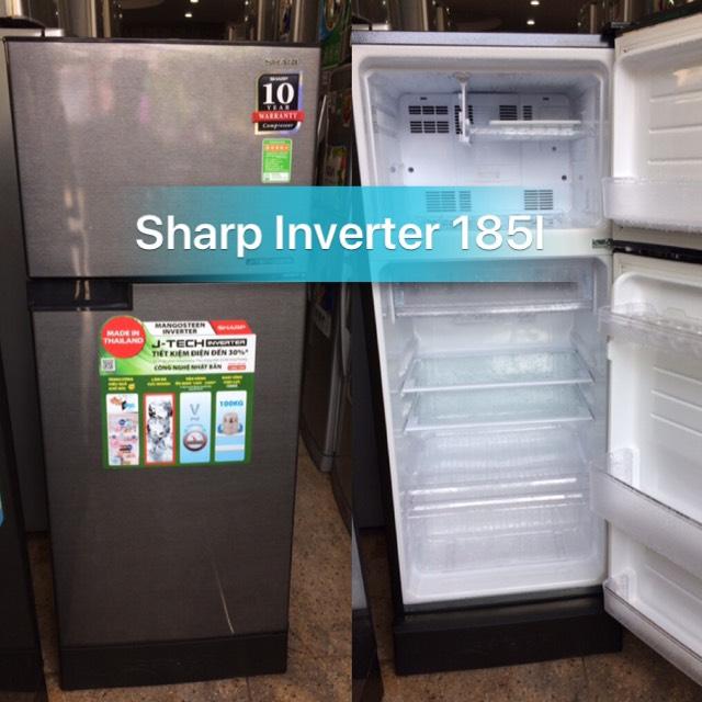 TỦ LẠNH SHARP 185L INVERTER CAO CẤP